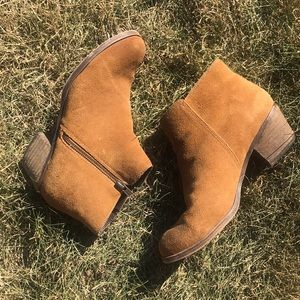 Aldo Chestnut Ankle Boots